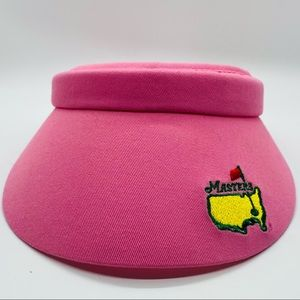 Masters NWT hot pink visor/hat, golf, one size